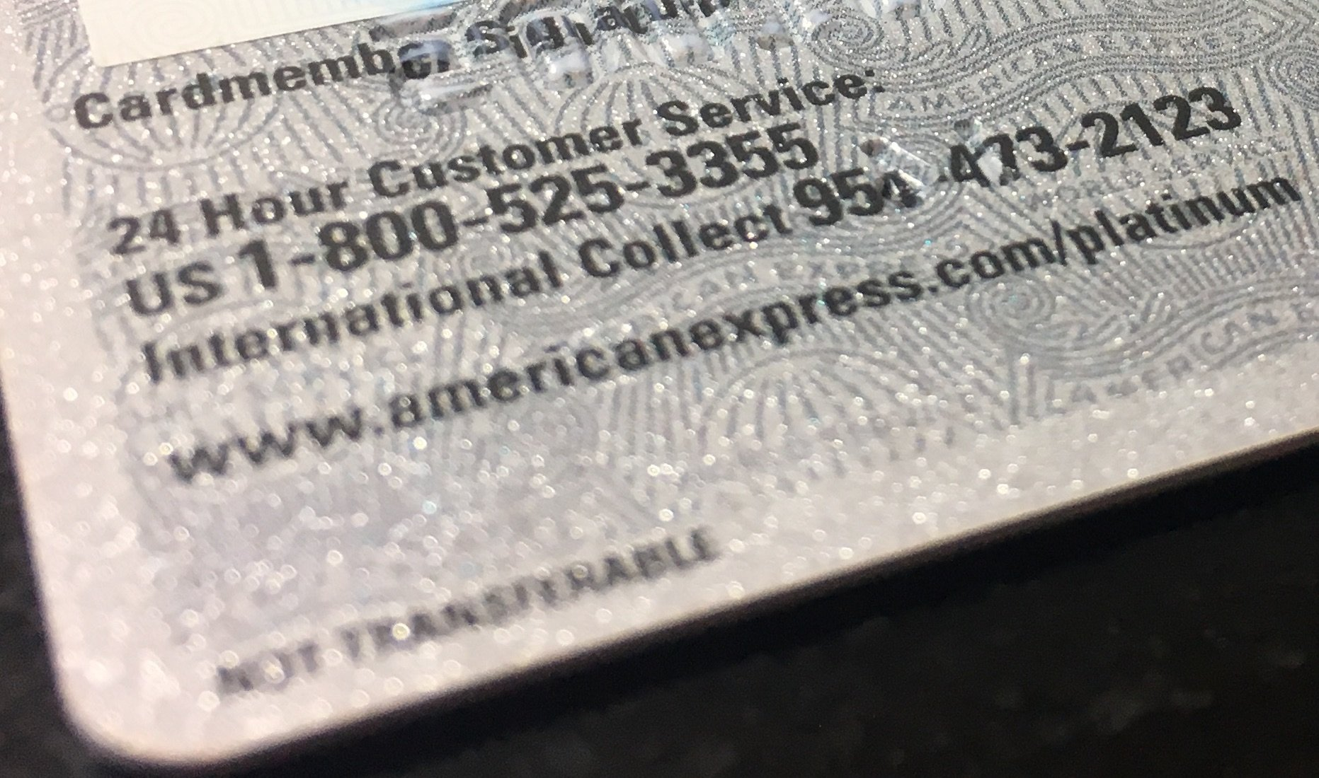The Phone Numbers On The Back Of Your Credit Cards - US Credit