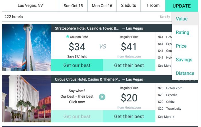 Amex Hotel Booking
