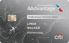 Citibusiness aadvantage platinum credit card 20185 for Citibank small business credit card